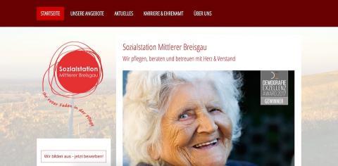 Sozialstation Mittlerer Breisgau - Ihr roter Faden in der Pflege