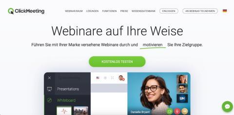 Webinar-Software - kompetente Webinare halten